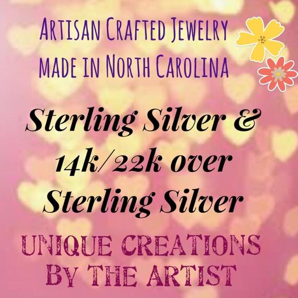 Frontrow.style Jewelry - Sterling Silver Earrings + 14k, 22k Gold Vermeil